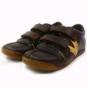 Louis Vuitton Sneakers Boys low Browns Leather 29